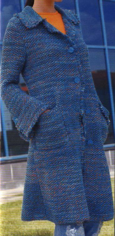 Come fare un cappotto a maglia - Como hacer un jersey de punto ...