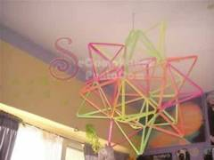 Cómo hacer una estrella para decorar tu dormitorio