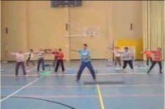 Ejercicios físicos de gimnasia de mantenimiento