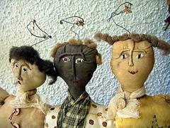 Molde gratis para muñecos country