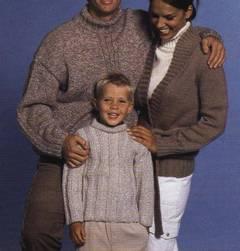 Patrones para tejer una chaqueta de punto