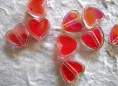 Tarjetas de boda con corazones